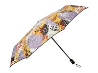 Vera Bradley Umbrella Painted Feathers Umbrella Multi