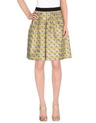 Roberto Collina Skirts Knee Length Skirts Women Acid Green