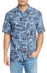O'neill Men's Jack Driftwood Regular Fit Short Sleeve Print Sport Shirt