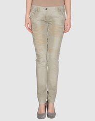Denny Rose Denim Pants Beige