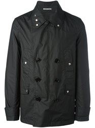 Christian Dior Double Breasted Jacket Black