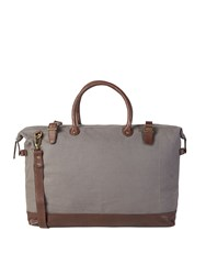 White Stuff Mark Canvas Holdall Khaki