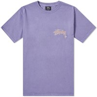Stussy Stock C. Pigment Dyed Tee Purple