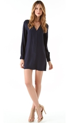 Rory Beca Keala Front Panel Dress Deep Blue