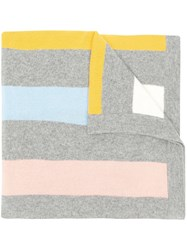 Chinti And Parker Cashmere Scarf Grey
