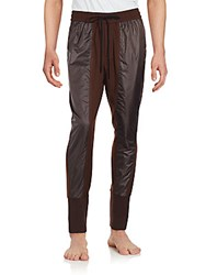 3.1 Phillip Lim Contrast Inset Drawstring Pants Timber