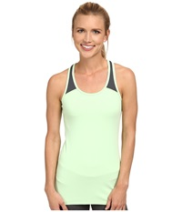 2Xu Essential Racer Tank Honeydew Charcoal Women's Workout Green