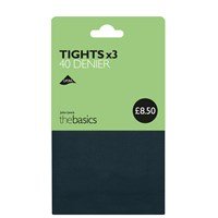 John Lewis 40 Denier Opaque Tights Pack Of 3 Teal