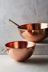 Anthropologie Copper Mixing Bowl