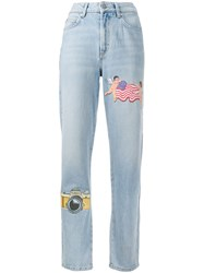 Fiorucci Tara Ny Patches Straight Jeans 60