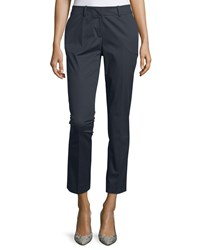 Lafayette 148 New York Skinny Ankle Pants Ink