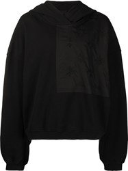 Haider Ackermann Embroidered Panel Detail Hoodie 60