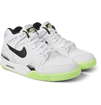 Nike Air Tech Challenge Ii Faux Leather Sneakers