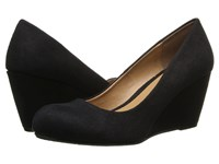 Chinese Laundry Dl Not Me Black Suede Women's Wedge Shoes