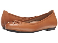 Vionic With Orthaheel Technology Spark Minna Ballet Flat Tan Women's Flat Shoes