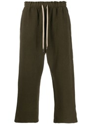 Covert Cropped Trackpants Green