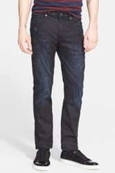 Levi's R Made And Crafted Tm 'Death Or Glory' Waxed Skinny Fit Jeans Dark Blue