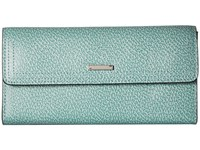 Lodis Stephanie Rfid Under Lock Key Checkbook Clutch Ocean Checkbook Wallet Blue