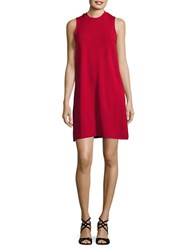 Bb Dakota Alanna Sleeveless Swing Dress Red
