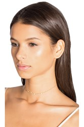 Sachi Art Deco Choker Metallic Gold