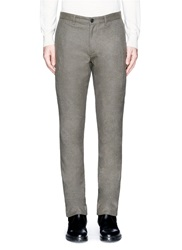 Theory 'Conall' Side Zip Pocket Pants Brown