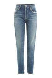 Citizens Of Humanity High Waisted Jeans Blue