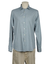 Altea Long Sleeve Shirts Green