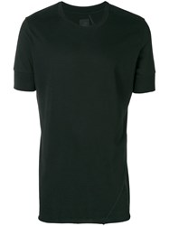 Thom Krom Short Sleeve Fitted T Shirt Black
