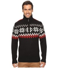 Dale Of Norway Myking Sweater Black Raspberry Men's Sweater