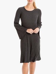 Max Studio Knitted Dress Charcoal