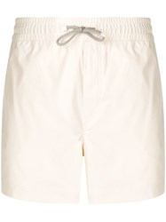 Brunello Cucinelli Elasticated Swimshorts Neutrals
