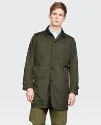 Aspesi Raincoat Lemon Dark Green