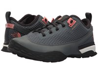 The North Face One Trail Turbulence Grey Desert Flower Orange Women's Shoes Turbulence Grey Desert Flower Orange