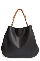 Sole Society Faux Leather Tote Black