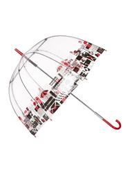Lulu Guinness London Birdcage Umbrella Clear