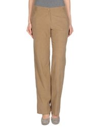 Laura Urbinati Casual Pants Camel