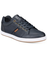 Levi's Men's Gilroy Pebbled Sneakers Men's Shoes Navy