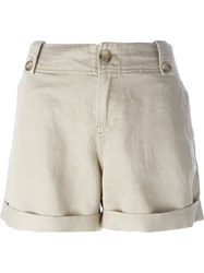 Diesel 'S Braque' Shorts Nude And Neutrals