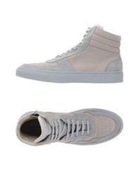National Standard Footwear High Tops And Trainers Men Light Grey