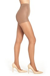 Nordstrom Plus Size Women's Control Top Pantyhose Deep Nude