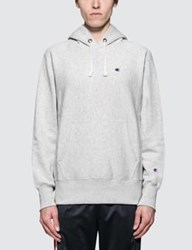 Champion Reverse Weave Hoodie With Script Logo At Hood