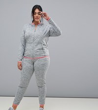 Only Play Curvy Plus Sweat Pants Grey