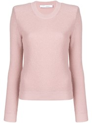 Iro Roots Fitted Sweater Pink