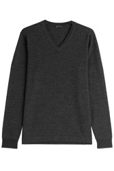 Baldessarini Wool Pullover Grey
