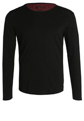 Tom Tailor Denim Long Sleeved Top Black
