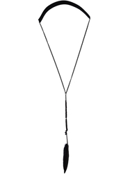 Ann Demeulemeester Feather Necklace