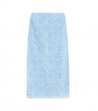 Nina Ricci Lace Skirt Blue