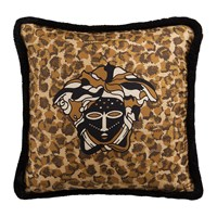 Versace Vulu Cushion 50X50cm Beige Coffee