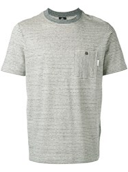Paul Smith Ps By Patch Pocket T Shirt Grey