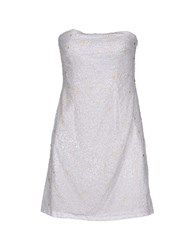Basix Ii Short Dresses White